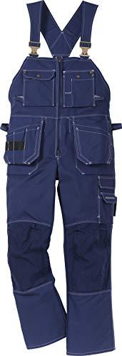 Fristad Kansas - Bib'n'brace 51 FAS Sz 54.5/138 Short Blue 100310-541 D132