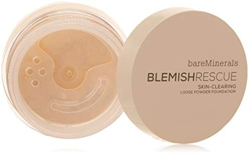 Bare Minerals Blemish Rescue Skin clearing Loose Powder Foundation for Women 2w Light 0 21 Oz product image
