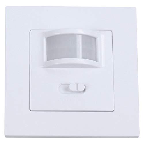 Detector de ocupación PIR de movimiento, interruptor de luz, detección de presencia, interruptor de selección.