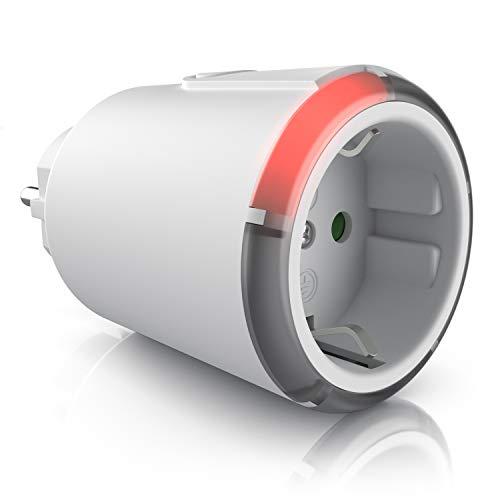 CSL - Countdown Timer Zeitschalter Zeitschaltuhr - Energiespar-Steckdose - 1 2 3 4 5 Stunden - Steckdose mit integriertem Berührungsschutz - Überspannungsschutz - Energieeffizient