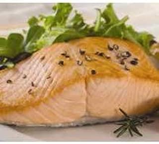 Trident Seafoods Skin On Keta Chum Salmon Portion - 20 of 8 Ounce Pieces, 10 Pound -- 1 each.
