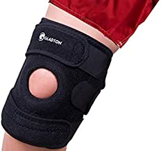 Gladton Regl Sz, Large XL XXL XXXL 2XL 3XL Best Knee Brace Support for Arthritis Running Meniscus Tear ACL MCL LCL Pain Sports. Patella Stabilizers for Plus Size Big Large Legs Thighs Women Men (3XL)