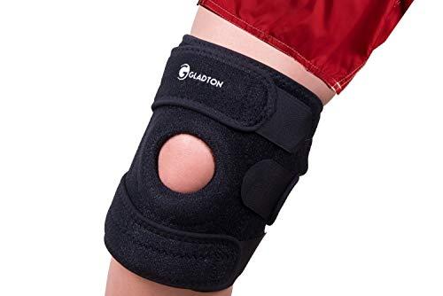 Gladton Regl Sz, Large XL XXL XXXL 2XL 3XL Best Knee Brace Support for Arthritis Running Meniscus Tear ACL MCL LCL Pain Sports. Patella Stabilizers for Plus Size Big Large Legs Thighs Women Men (3XL)