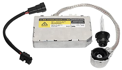KDLT002 Xenon HID Headlight Ballast Assembly Module Compatible with Lexus IS300 ES300 LS430 SC430, Mazda 6 RX-8, Toyota Avalon Sienna Celica Prius