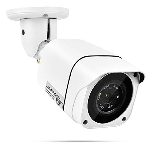Cámara Vigilancia 100-240V Cámara 1080p Mini Cámara Al Aire Libre Impermeable Visión Nocturna Cámara con Antenas