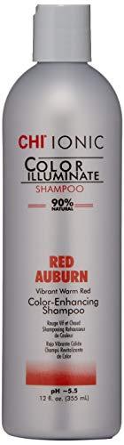 CHI Ionic Color Illuminate Shampoo, Red Auburn, 12 FL Oz