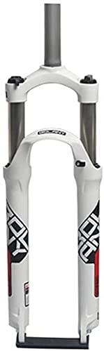 Forcella Meccanica Con Controllo Della Spalla, Forcella Per Mountain Bike, Freno A Disco, Forcella Ammortizzata In Lega Di Alluminio, Corsa 105 Mm(Color:Red;Size:26inch)