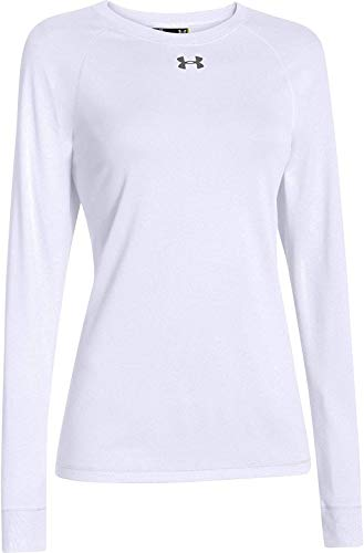 Under Armour Locker –Camiseta de manga corta para hombre - 1268471-100-LG, Large, Blanco