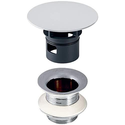 Geberit afvoerventiel (met vrije uitloop, voor wastafels zonder overloop, lengte: 5 cm) 152.050.21.1