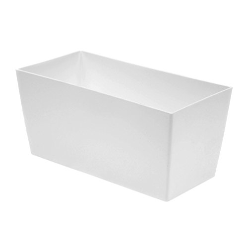 Tera plast 8082025022Maceta Coímbra 25, 26x 13x 12,5h, 3,6L), color blanco