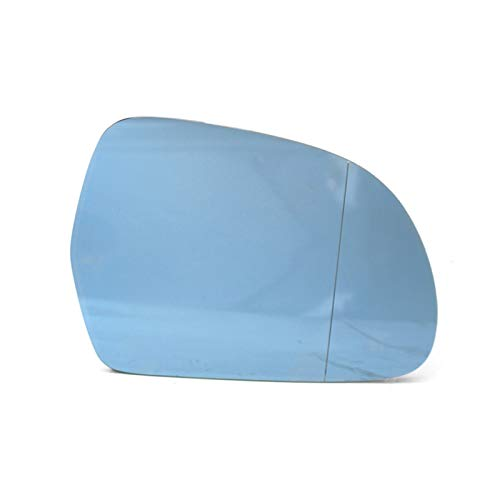 BYWWANG Cristal de Espejo retrovisor con calefacción Lateral Derecho 8T0857536D 4F0857536AE de...