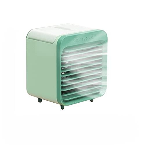 N / B Ventilador de aire acondicionado personal, mini enfriador de espacio, para oficina en casa, cocina, purificador, ventilador de refrigeración, USB portátil
