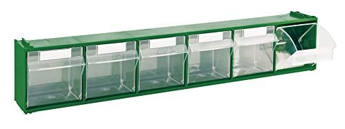 Cassettiera Mobil Plastic Modello 'Madia 2' - 6 Cassetti - Verde