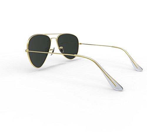 Aviator Sunglasses, BlackLemon Aviator Fashion Sunglasses for Women Men 100% UV protection Glasses