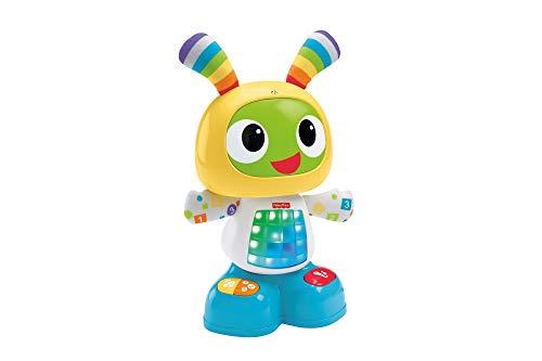 Fisher-Price CGV45 - Tanzspaß BeatBo, Motorikspielzeug mit Lichtern und Melodien zum Tanzen und Bewegen, Spielzeug ab 9 Monaten, deutschsprachig