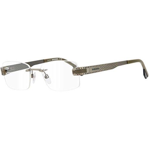 Diesel heren zonnebril DL5043, maat medium, grijs (grijs 009)
