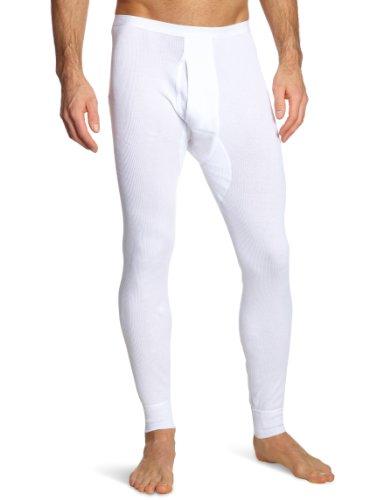 Schiesser Herren Lang Unterhose, Weiß (100-weiss), XL EU