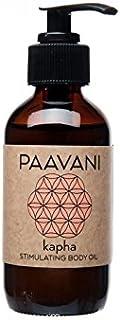 PAAVANI Ayurveda Kapha Body Oil - Made in USA - Ayurvedic Skin Care - Massage Oil - 100% Organic, 8 oz