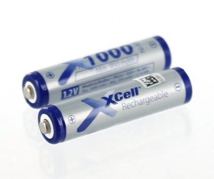 Accu compatibel met Philips Sixty Everywhere | 2x1.2 Volt | 1000 mAh NiMH accu