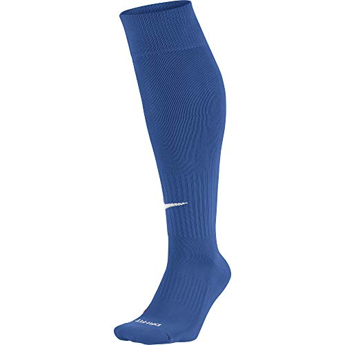 Nike Unisex Erwachsene Knee High Classic Football Dri Fit Fußballsocken, Blau (Varsity Royal Blue/White), 42-46 EU (L)