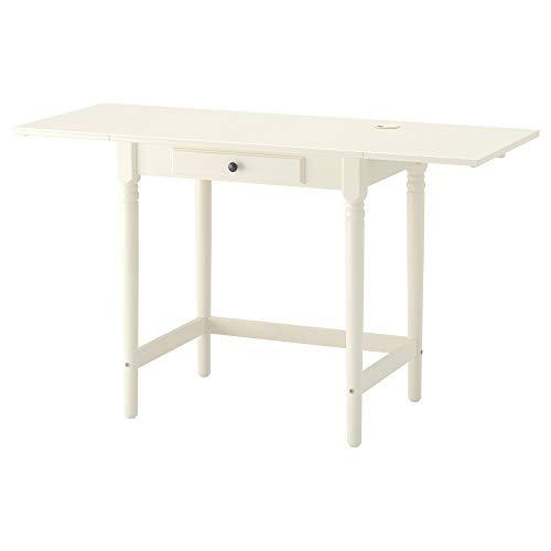 IKEA INGATORP Schreibtisch weiß Größe 283/4x 195/20,3cm 003.619.40