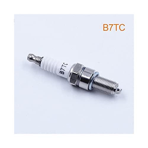 Candela per Moto Spark Plug B7TC. Compatibile con CR7EK CR7E C7E CR7EIX CR7EGP IU22 U22ESRN 94703-00353 G59C B7RIU Cavo della Candela del Motociclo