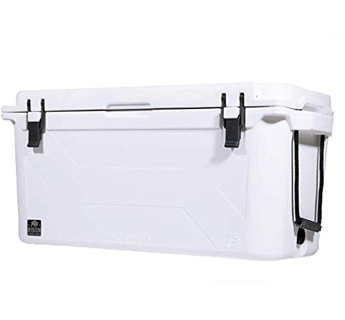 BISON COOLERS 75 Quart Large Double Insulated...