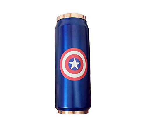 Stainless Steel Travel Insulated Mug with Lid And Straw Double Wall Stainless Coffee Cup Thermos Keeps Liquid Hot Or Cold Office Tea Water Bottle with Splash Proof Best Gift for Women Men Boy ,Blue
