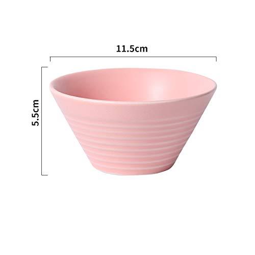 Kreative Keramikschale Dou Li Bowl Reisschüssel Mit Gewinde Salat Süße Suppenschüssel Instant-Nudelschale Reisschüssel Dessertschale