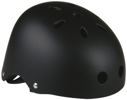 FISCHER  Herren BMX Helm, schwarz/matt, S/M