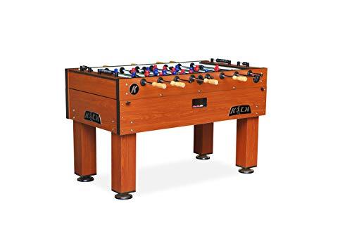 KICK Titan 55″ in Tournament Foosball Table (Brown)