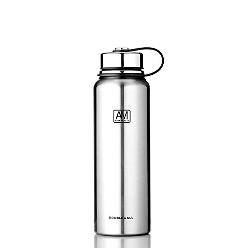 ZXYZZ Fitness waterkoker beker auto grote capaciteit draagbare waterfles Outdoor Sports Business thee kop grote capaciteit water mok 1100 ML isolatie pan
