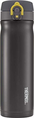 Thermos Contenitore per liquidi in acciaio INOX anti infiltrazioni da 500 ml, colore: Carbone