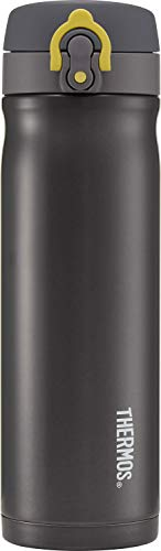 Thermos Direct Drink Flask, Charcoal, 470 ml