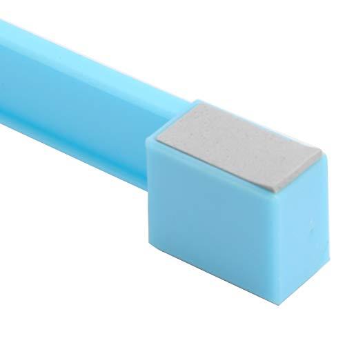 Almohadilla de enfriamiento para computadora portátil, con luz LED Azul para el Uso Seguro de la computadora Almohadilla de enfriamiento para computadora portátil(Blue, Pisa Leaning Tower Type)