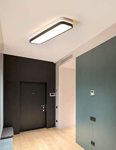 S-L Rectángulo de geometría Luces de techo Lámpara colgante LED moderna, lámpara de acrílico de acrílico de 12W Araña de acrílico para interiores Accesorio de iluminación de techo, linterna de montaje
