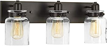 Calhoun Collection Three-Light Farmhouse Bath Vanity Light