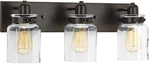 Best Progress Lighting bathroom over vanity lighting