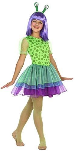 Fancy Me Disfraz de alienígena Marciano para niñas de 3 a 12 años ...