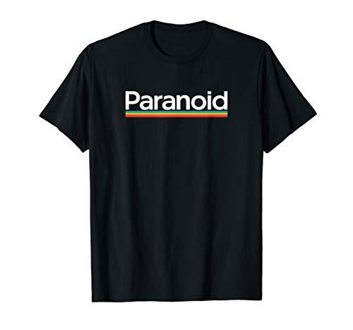 Paranoid Polaroid Parody Logo T-shirt, 9 Colors form Men or Women, S to 3XL