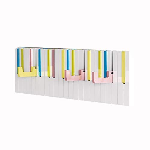 DEWUFAFA Gancho de Pared Piano Escudo, Percha for la decoración de la Pared, de Pared Portal, Perchero