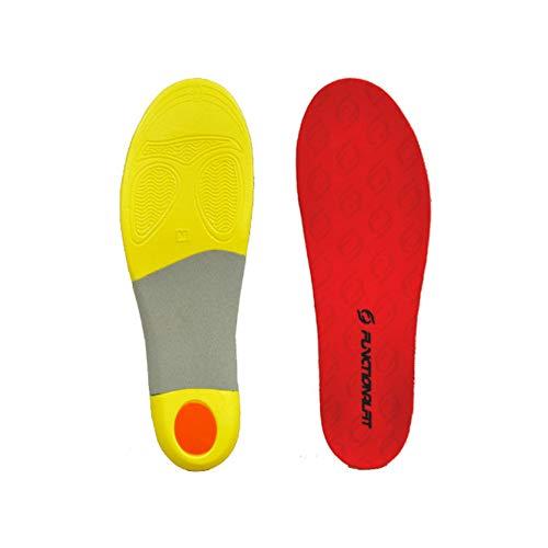 ファンクショナルフィット インソール ランニングモデル レッド FUNCTIONALFIT RUNNING MODEL メンズ レディーズ 中敷 男女兼用 日本製 赤 RED (L(27〜28.5cm), レッド)