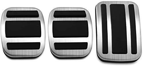 WANWU - Copertura per pedale del freno per auto, compatibile con 308 3008 408 4008 5008 Citroen C4 Picasso (MT)