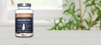 DigestiAid pour chat | Probiotiques & Prébiotiques | 90 Gélules |SimplySupplements