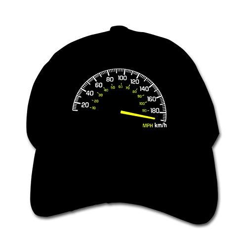 Speedometer Going to Max Speed Unisex Kinder Mütze Sonnenhut Hip Hop Kappe Verstellbare Sportkappe Teen Hut Kinder Entenschnabel Kappe