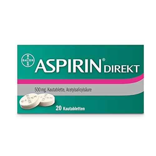 ASPIRIN Direkt Kautabletten, 20 St. Tabletten