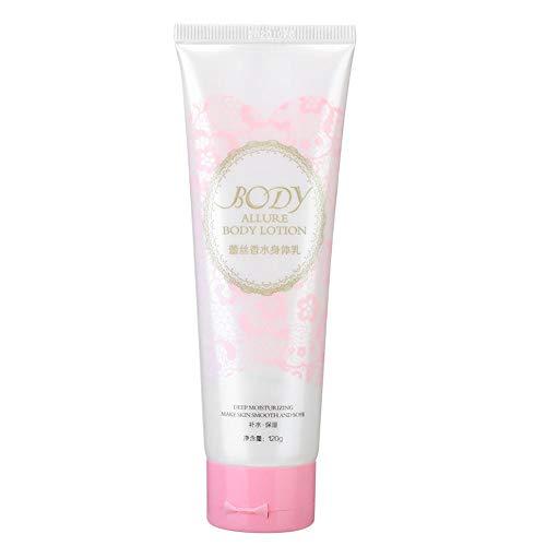 Loción corporal aclarante con extracto de rosa, crema corporal hidratante hidratante y nutritiva para el cuidado de la piel, para cuello, brazos, piernas, pies