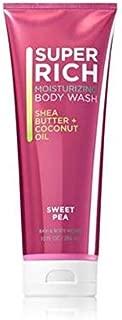 Bath & Body Works Moisturizing Body Wash 10 oz , Sweet Pea