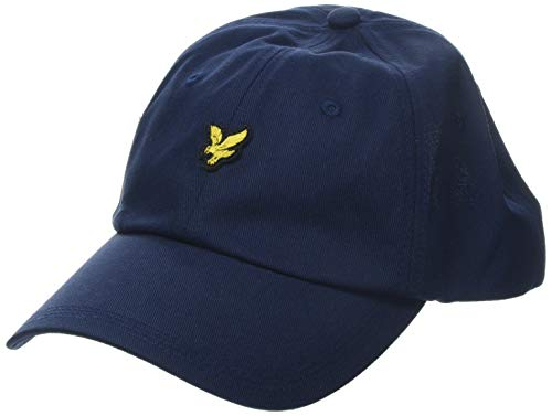 Lyle & Scott Herren Cotton Twill Baseball Cap, Schwarz, One Size