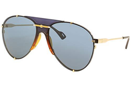 Gucci GG0740S - Occhiali da sole unisex blu 61/15/135